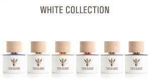 white collection parfum de niche Santi Burgas