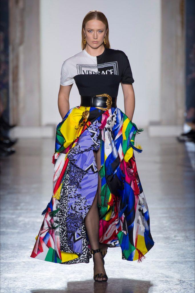 sfilata Versace febbraio 2018